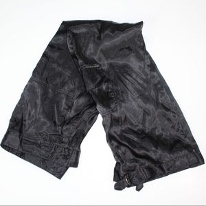 Pants - Silk black cargo pants